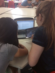 GoogleDocs Script worked on collaboratively, iPad being used for Puppet Pals